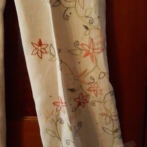 J. Jill Pants - Beautiful embroidered pants, J Jill
